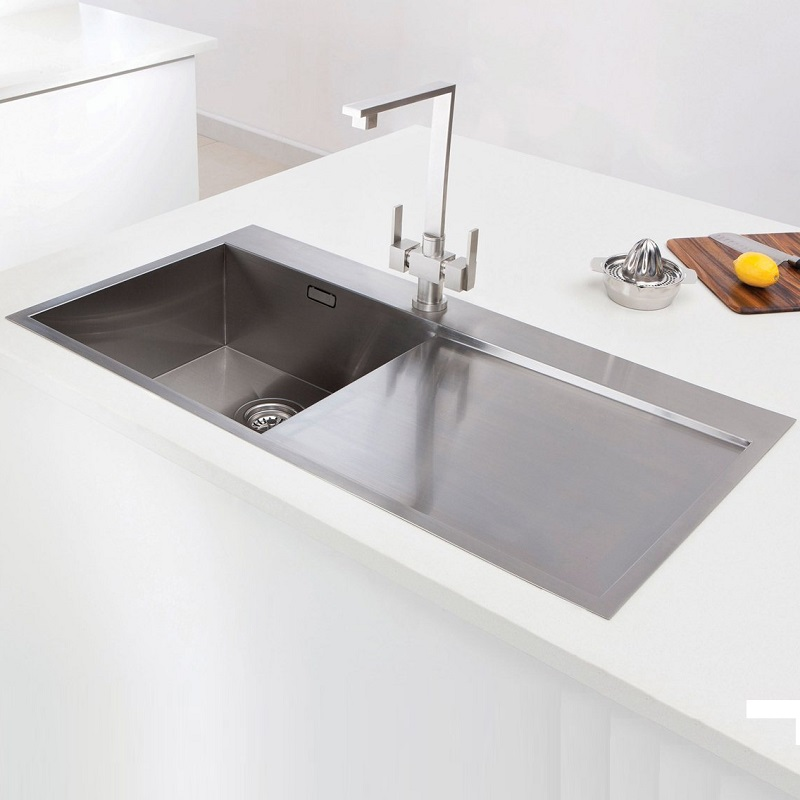caple cubit 100 stainless steel single bowl inset kitchen sink. Interior Design Ideas. Home Design Ideas